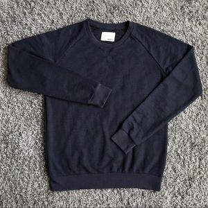 Sovereign Code Navy Blue Pullover Crewneck Sweater